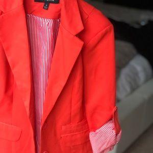 New Look Jackets & Coats - New Look Coral Blazer